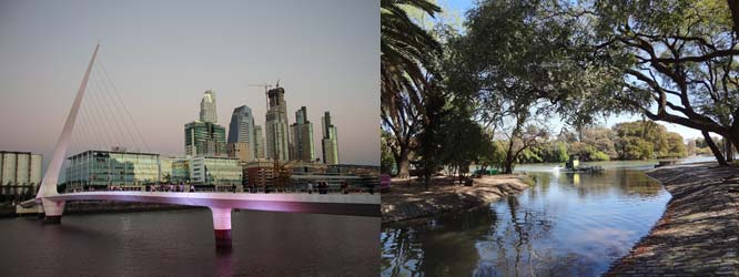 Puerto Madero & Palermo Park in Buenos Aires