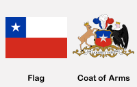 Chile Flag & Coat of Arms