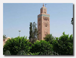Koutoubia Mosque at Marrakech