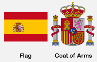 Spain Flag & Coat of Arms